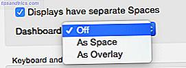 Questi widget del centro di notifica rendono non pertinente la dashboard