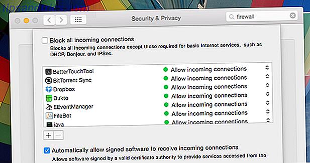 Pour la plupart des gens, OS X est assez sûr hors de la boîte - et il existe un certain nombre de programmes qui font potentiellement plus de mal que de bien.