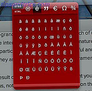 Hurtigt finde og kopiere uklare symboler, og send dem derefter til et hvilket som helst program.  Symbol Caddy er blandt de længe glemte klasse af Mac apps - instrumentbrættet widget.