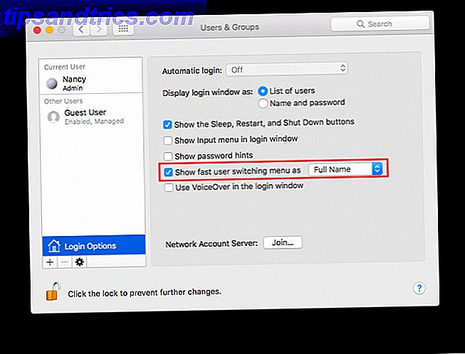 So wechseln Sie schnell Benutzerkonten über die Mac-Menüleiste