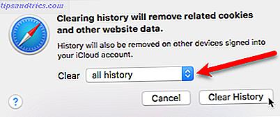 19e09179d Slik fjerner du Safari-navigeringshistorikken og -dataene ...