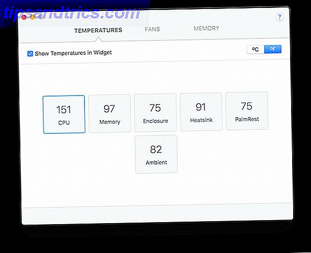Il existe de nombreuses situations où vous souhaiterez peut-être connaître en un coup d'œil les informations relatives au processeur, à la RAM et au ventilateur de votre système.  Ce widget gratuit est l'outil parfait pour cela sur OS X.
