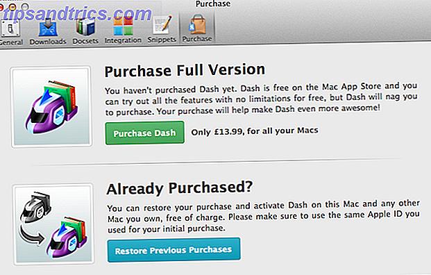 Si vous êtes programmeur, vous dépendez déjà fortement de la documentation.  Dash est une application Mac conçue pour rendre votre lecture obligatoire une expérience plus agréable.