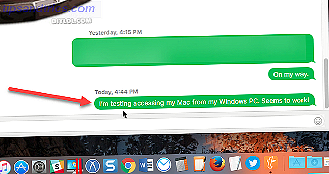 mac realvnc téléspectateur imessage windows
