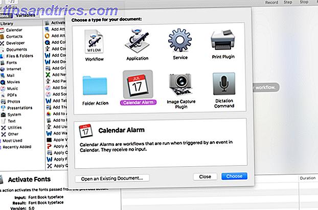 Brug Automators browserkommandoer til at spare tid på at udføre regelmæssige handlinger i Safari eller en anden browser.