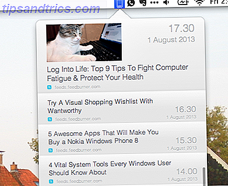 Überprüfen Sie schnell RSS-Schlagzeilen mit frischem Feed für Mac