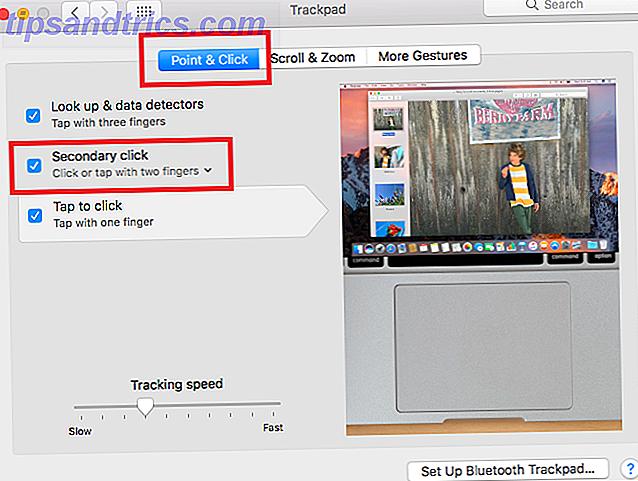 Hoe klik je met de rechtermuisknop op een Mac Trackpad