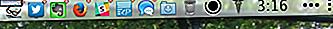 StatusDuck remplace le Dock de votre Mac avec des icônes Menubar