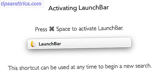 Aller au-delà du projecteur d'Apple avec LaunchBar 6 pour Mac