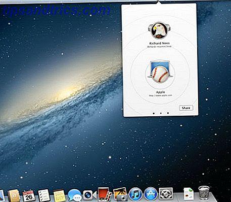 Der große Link: Teilen Sie Webseiten-URLs von Ihrem Desktop über Bonjour [Mac]