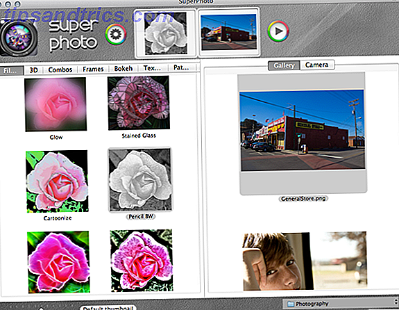 SuperPhoto: Lägg enkelt till effekter och filter på dina foton [Mac]