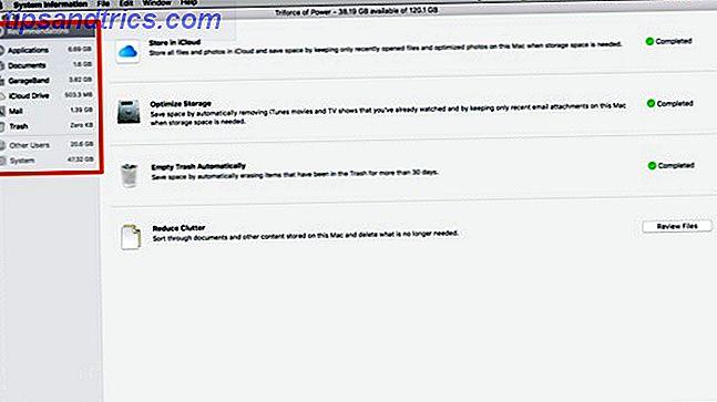 Nettoyez le stockage de votre Mac avec Sierra ou utilisez Automator
