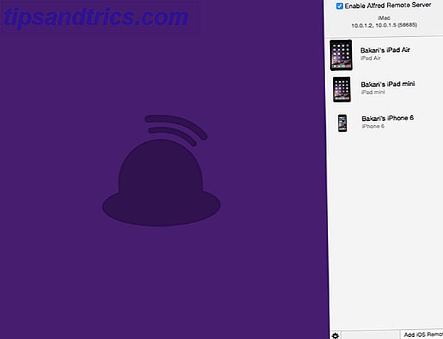Når det kommer til at blive mere gjort på din Mac, sætter Alfred Remote mange almindelige opgaver helt bogstaveligt talt lige ved hånden via din iPhone eller iPad.
