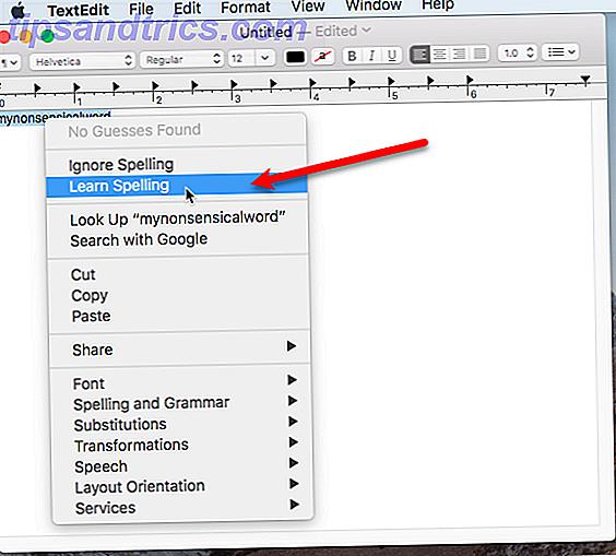 Es ist einfach, dem Wörterbuch Ihres Mac Wörter hinzuzufügen, und heute zeigen wir Ihnen, wie.
