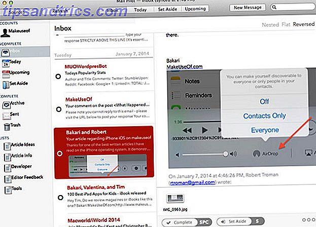 Il pilota di posta elettronica per app orientato alle attività arriva su Mac OS X