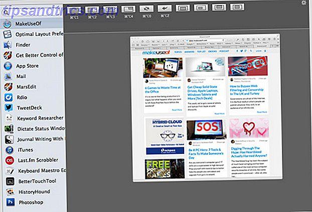 El escritorio de su Mac puede llenarse fácilmente con ventanas abiertas, páginas de navegación y otras aplicaciones; recupere ese espacio con Optimal Layout.
