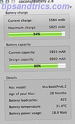 CoconutBattery: Din Mac-batteri er sundhedsforenklet