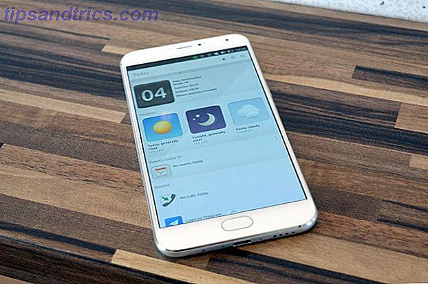 Meizu Pro 5 Ubuntu Edition Beoordeling van smartphones