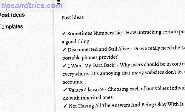 Wenn Sie eine unkomplizierte Notiz-App benötigen, ist Simplenote nicht die einzige erwähnenswerte Option (Entschuldigung für das Wortspiel).