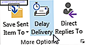 Outlook Delay Delivery Email Scheduler