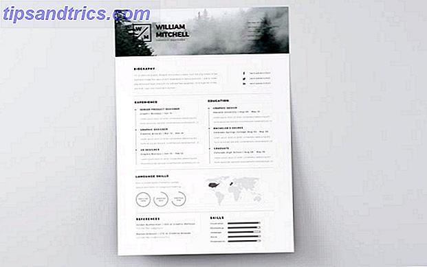 15 kostenlose Creative Resume-Vorlagen für Photoshop und Illustrator