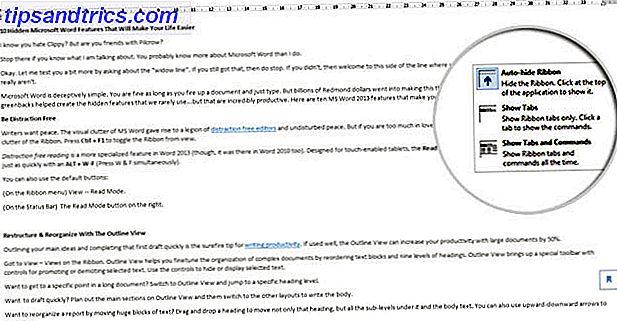 O Microsoft Word é enganosamente simples.  Você está bem contanto que você ative um documento e simplesmente digite.  Mas o Microsoft Word não seria o canivete suíço sem seus recursos produtivos.