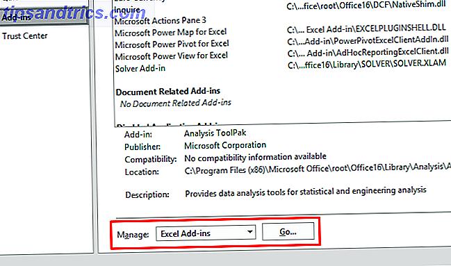 O Excel não se destina à análise de dados, mas ainda pode manipular estatísticas.  Mostraremos como usar o suplemento Data Analysis Toolpak para executar as estatísticas do Excel.