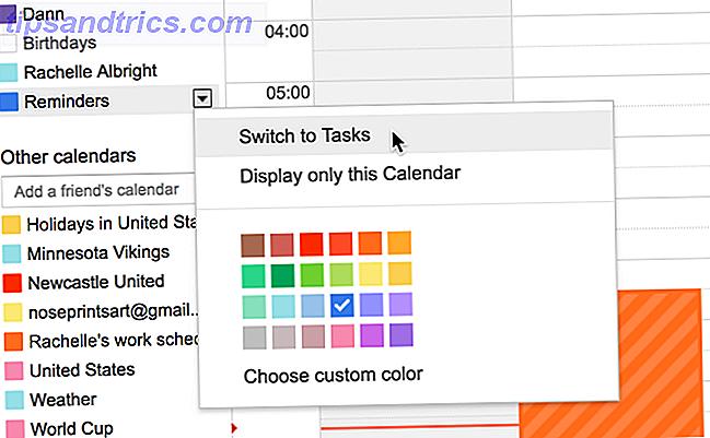 Cómo sincronizar su Google Calendar con su lista de cosas por hacer