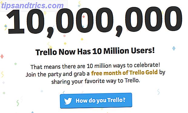 Trello verteilt derzeit einen kostenlosen Monat Trello Gold an jeden seiner 10.000.000 Benutzer.  Wir zeigen Ihnen, wie Sie Ihre bekommen und was Sie damit machen können.