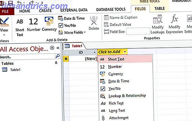Αυτό το εγχειρίδιο βάσης δεδομένων πρόσβασης θα σας βοηθήσει να ξεκινήσετε