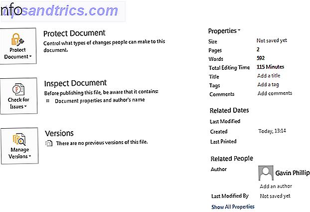 Verborgen persoonlijke gegevens in Microsoft Office verwijderen