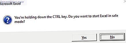 Saviez-vous que Microsoft Office dispose d'un mode sans échec qui n'est pas lié au mode sans échec de Windows?