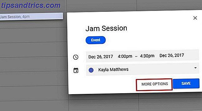 Nogle produktivitets tips er så komplekse, du starter aldrig.  Jam-sessioner er forskellige.  Vi viser dig hvordan du føjer dem til din dag og din Google Kalender.