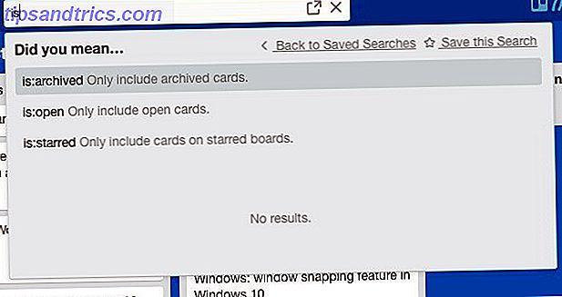 8 Συμβουλές για γρήγορη αναζήτηση και ταξινόμηση καρτών Trello και λιστών