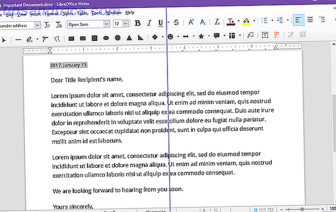Lelijke lettertypen en tekst in LibreOffice op Windows 10 oplossen