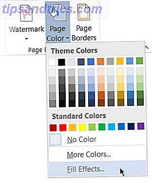 Så här skapar du en grafpapperskal i Microsoft Word