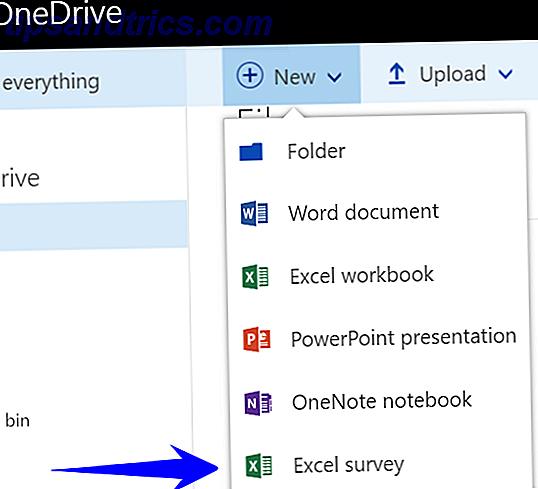 Sådan opretter du en gratis undersøgelse og indsamler data med Excel