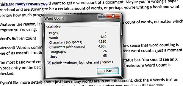 Cuando necesite contar las palabras en un documento de Microsoft Word, PDF o cualquier otro formato, aquí están las herramientas a su disposición.