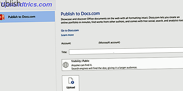 Office2016PublishToDocs