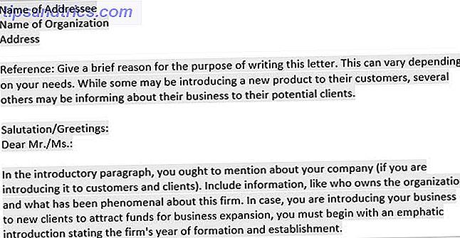 15 Business Letter Vorlagen Für Microsoft Word Um Zeit Zu Sparen