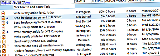 Comment utiliser Outlook pour une gestion simple des tâches et des projets