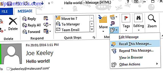 Comment rappeler un email dans Outlook après l'avoir envoyé