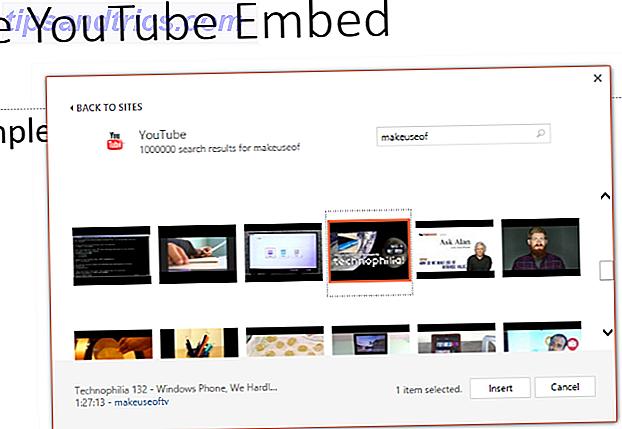 Så här lägger du in en YouTube-video och andra medier i din PowerPoint-presentation