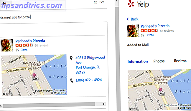 Nueva Outlook.com - Yelp