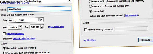 GoToMeeting - Calendrier Desktop