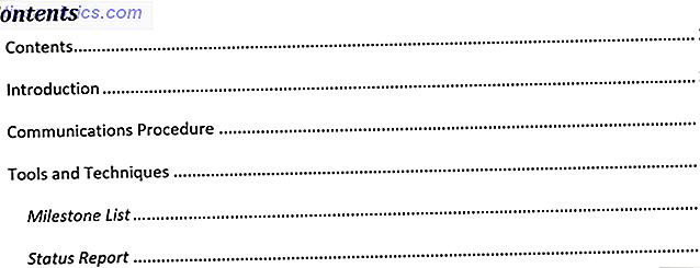 Le Guide simple de l'onglet Références Microsoft Word