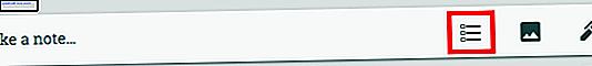 Google Keep har några funktioner som gör den perfekt för listhantering.  Inte bara kan du skapa en checklista och synkronisera appen över plattformar, Google Keep erbjuder även platsbaserade påminnelser och mer.