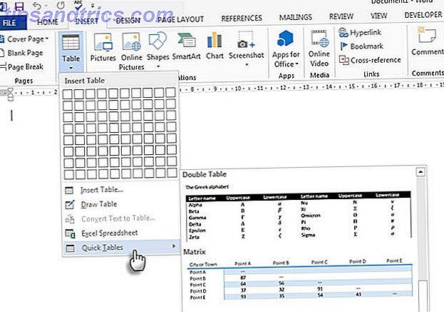 8 astuces de formatage pour des tableaux parfaits dans Microsoft Word