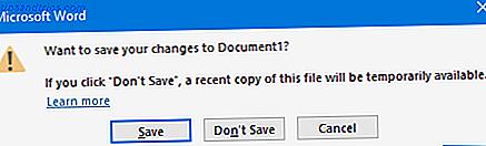 Avez-vous déjà accidentellement quitté votre document Word 2016 sans enregistrer?  Tout n'est pas perdu.  Nous allons vous montrer comment récupérer un document Word non enregistré.