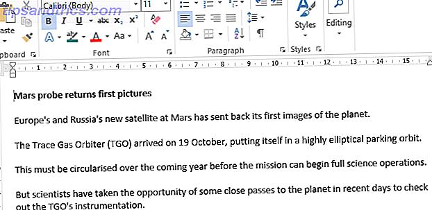 Comment faire pour fusionner plusieurs documents Word dans Microsoft Office 2016
